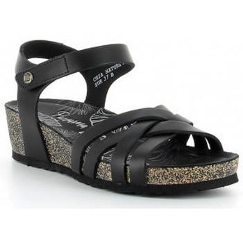 Sapatos Mulher Sandálias Panama Jack CHIA NATURE B2 negro Noir
