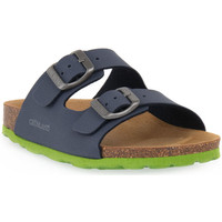 Sapatos Sandálias Grunland BLU LIME 40LUCE Blu