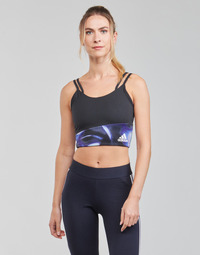 Textil Mulher Tops e soutiens de desporto adidas Performance WUFORU Preto