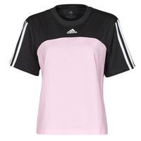Textil Mulher T-Shirt mangas curtas adidas Performance WECBT Preto