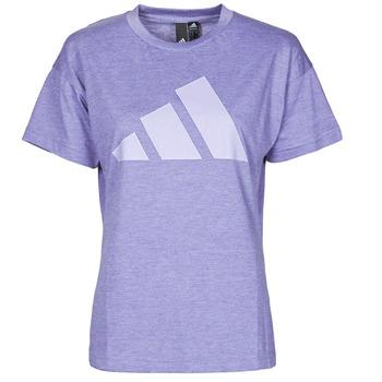 Textil Mulher T-Shirt mangas curtas adidas Performance WEWINTEE Violeta