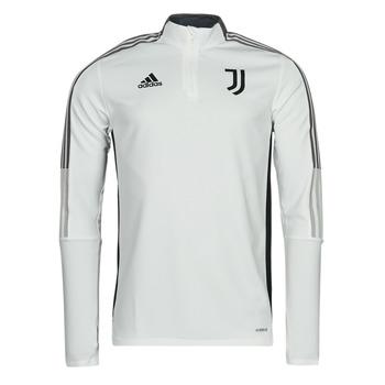Textil Casacos fato de treino adidas Performance JUVE TR TOP Branco