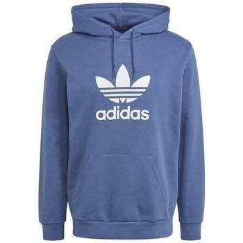 Textil Homem Sweats adidas Originals Trefoil Hoodie Azul