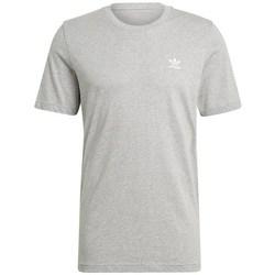 Textil Homem T-Shirt mangas curtas adidas Originals Essential Tee Cinzento