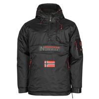 Textil Homem Parkas Geographical Norway BARKER Preto