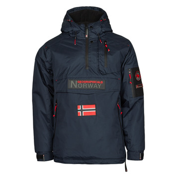 Textil Homem Parkas Geographical Norway BARKER Marinho