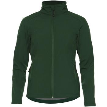 Textil Mulher Casacos  Gildan SS800L Verde Floresta