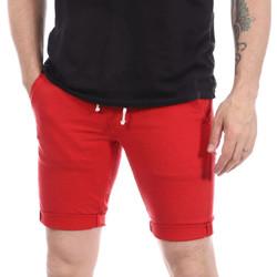Textil Homem Shorts / Bermudas Paname Brothers  Vermelho