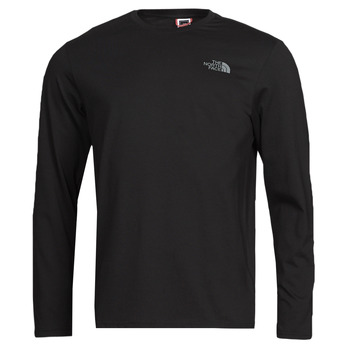 Textil Homem T-shirt mangas compridas The North Face L/S EASY TEE Preto