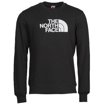 Textil Homem Sweats The North Face DREW PEAK CREW Preto / Branco