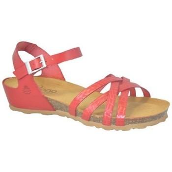 Sapatos Mulher Sandálias Yokono MONACO-045 Vermelho