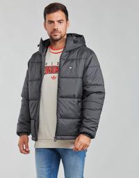 Textil Homem Quispos adidas Originals PAD HOODED PUFF Preto