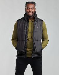 Textil Homem Quispos adidas Originals PADDED VEST Preto