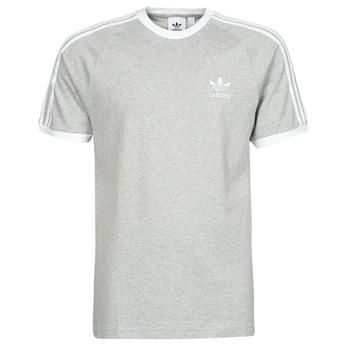 Textil Homem T-Shirt mangas curtas adidas Originals 3-STRIPES TEE Cinza