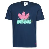 Textil Homem T-Shirt mangas curtas adidas Originals 6 AS TEE Azul / Marinho