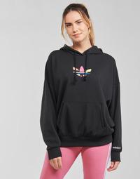 Textil Mulher Sweats adidas Originals HOODIE Preto