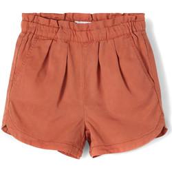 Textil Rapariga Shorts / Bermudas Name it  Laranja
