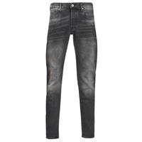 Textil Homem Calças de ganga slim G-Star Raw 3301 SLIM Cinza