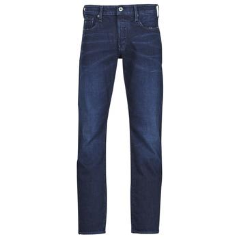Textil Homem Calças Jeans G-Star Raw 3301 STRAIGHT Azul