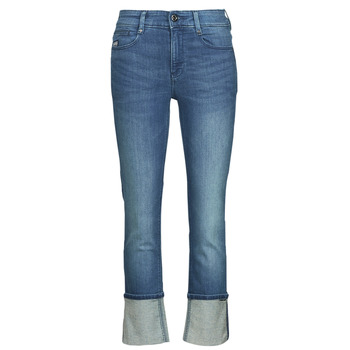Textil Mulher Calças Jeans G-Star Raw NOXER STRAIGHT Azul