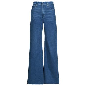 Textil Mulher Calças de ganga bootcut G-Star Raw DECK ULTRA HIGH WIDE LEG Azul