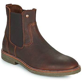 Sapatos Homem Botas baixas Panama Jack GARNOCK Preto