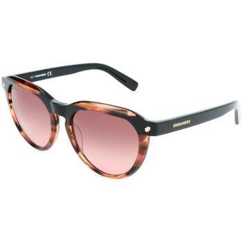 Relógios & jóias Mulher óculos de sol Dsquared - DQ0287 Castanho