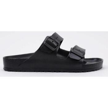 Sapatos Homem Chinelos Birkenstock  Preto