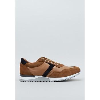 Sapatos Homem Sapatilhas Krack  Castanho
