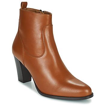 Sapatos Mulher Botins Betty London PETRA Conhaque