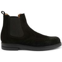 Sapatos Homem Botas baixas Duca Di Morrone - 101_camoscio Preto