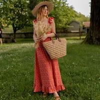 Textil Mulher Vestidos compridos Céleste AURORE version courte Vermelho