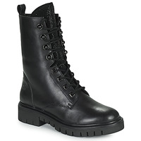 Sapatos Mulher Botas baixas Kaporal ZELIZA Preto / Glitter