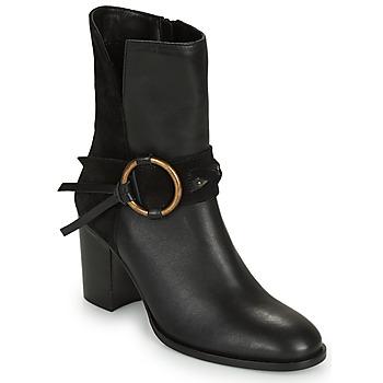 Sapatos Mulher Botins Kaporal PERCY Preto