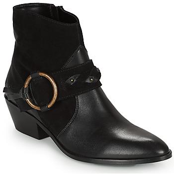 Sapatos Mulher Botins Kaporal PEARL Preto
