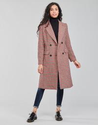 Textil Mulher Casacos Betty London PIVENE Preto / Vermelho