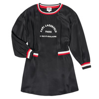 Textil Rapariga Vestidos curtos Karl Lagerfeld RUBIS Preto