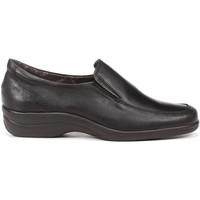Sapatos Mulher Mocassins Fluchos MOCCASINS 6625 SANOTAN STK PRETO