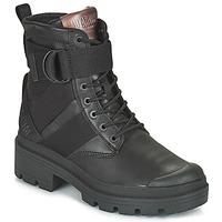Sapatos Mulher Botas baixas Palladium PALLABASE TACT STR L Preto