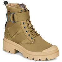 Sapatos Mulher Botas baixas Palladium PALLABASE TACT S TX Verde