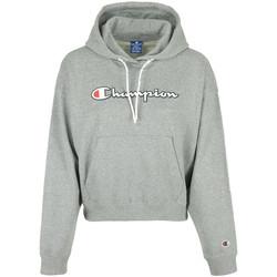 Textil Mulher Sweats Champion Hooded SweatshirtWn's Cinza