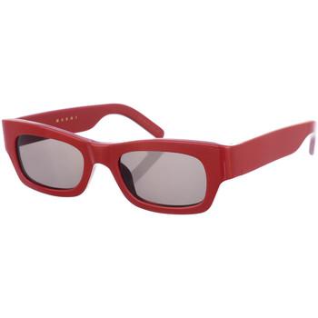 Relógios & jóias Mulher óculos de sol Marni Gafas de Sol Vermelho