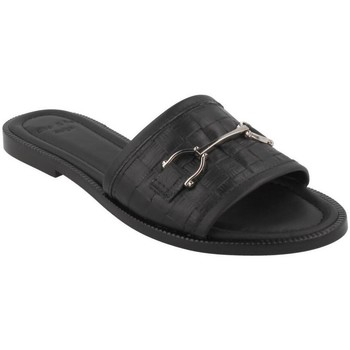 Sapatos Mulher Chinelos She - He  Negro