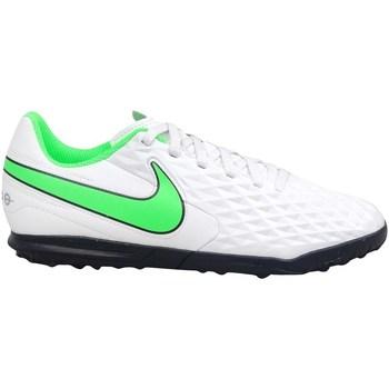 Sapatos Criança Chuteiras Nike Tiempo Legend 8 Club TF JR Branco