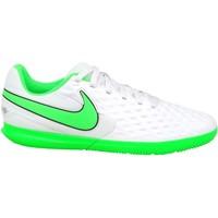 Sapatos Criança Chuteiras Nike JR Tiempo Legend 8 Club IC Branco
