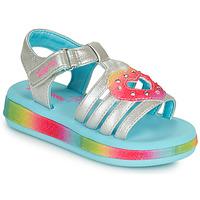 Sapatos Rapariga Sandálias Skechers SUNSHINES/FAIRY HEARTS Multicolor