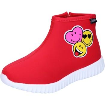 Sapatos Rapariga Botins Smiley BJ990 Vermelho