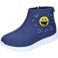 Sapatos Rapariga Botins Smiley BJ991 Azul