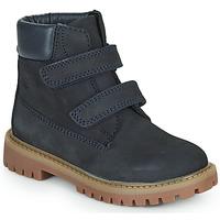 Sapatos Rapaz Botas baixas Citrouille et Compagnie PAXA Azul