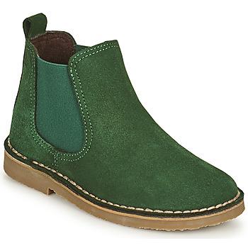 Sapatos Criança Botas baixas Citrouille et Compagnie HOVETTE Verde